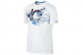618903-100 Nike杜兰特白色男子短袖T恤