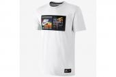 618916-100 Nike科比白色男子针织短袖T恤