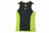 618322-381 Nike黑绿色男子篮球背心