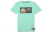 618916-308 Nike科比绿色男子针织短袖T恤