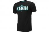 611321-010 Nike杜兰特黑色男子针织短袖T恤
