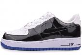 488298-058 Nike Air Force 1 空军一号黑白色男子休闲板鞋