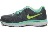 642826-008 Nike Dual Fusion Lite 2 Msl 灰绿色女子跑步鞋