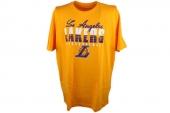 F87801 adidas Fnwr Tee NBA图案黄色男子针织短袖T恤