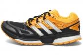 M29770 adidas Response Bost Tach 黑色男子跑步鞋