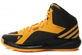 C75535 adidas Crazy strike 黑橙色男子篮球鞋