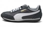 1PU35129353 Puma 灰色怀旧系列男子休闲鞋