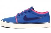 644885-446 Nike Wmns Toki Low Txt 蓝色女子休闲板鞋
