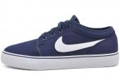 555272-411 Nike Toki Low TXT 深蓝色男子休闲板鞋