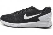 654433-001 Nike Lunarglide 6 黑白色男子跑步鞋