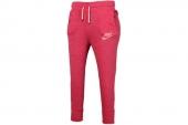 545783-610 Nike红色女子针织七分裤