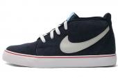 555317-404 Nike Toki Leather 蓝黑色男子休闲板鞋