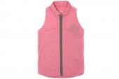 598268-604 Nike网球系列粉色女子背心polo衫