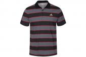 F95605 adidas TS Stripe PO M1 黑灰色条纹短袖Polo衫