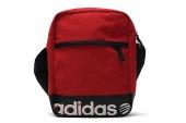 S11145 adidas 红色中性单肩包