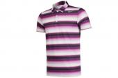 598138-519 Nike葡萄紫男子条纹图案短袖Polo衫