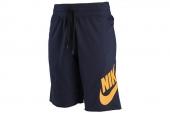 633466-451 Nike蓝色男子运动短裤