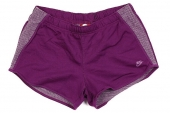 611244-519 Nike AS NIKE RU Sunset Short  紫色女子短裤