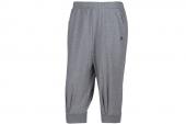 M68720 adidas中麻灰色男子针织七分裤