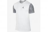 647215-100 Jordan乔丹系列白色男子短袖T恤