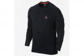 647239-010 Jordan乔丹黑色男子针织卫衣