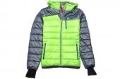 2PU82766070 Puma灰绿色男子棉衣