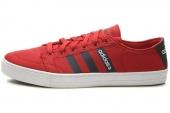 F39101 adidas Vlneo Bball Lo 学院红男子休闲板鞋