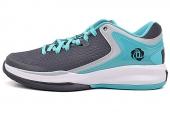 D73905 adidas Rose Englewood II 罗斯系列深黑灰色男子篮球鞋