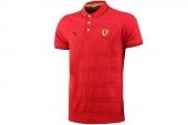 2PU56724001 Puma红色男子针织短袖polo衫