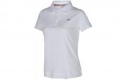 M68595 adidas白色女子针织短袖polo衫
