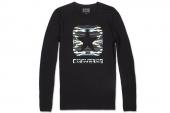 09151C001 Converse黑色男子长袖T恤