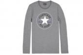 09154C001 Converse灰色男子长袖T恤