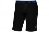 D81310 adidas黑色男子紧身运动短裤