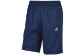 M68410 adidas蓝色男子运动短裤