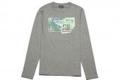 09156C035 Converse灰色男子长袖T恤