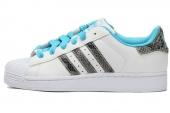 M20899 adidas Superstar 2 W 三叶草贝壳头亮白女子休闲板鞋