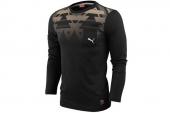 2PU56620703 Puma黑色男子针织长袖T恤