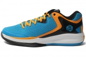 C75541 adidas D Rose Englewood II 蓝黑色男子篮球鞋