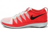 620465-006 Nike Flyknit Lunar 2 白红色男子跑步鞋