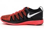 620465-601 Nike Nike Flyknit Lunar2 黑橙色男子跑步鞋