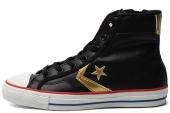 146507 Converse Chuck Taylor All Star 皮质侧拉链中性硫化鞋