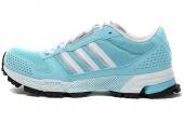 M25861 adidas Marathon 10 TR W 薄荷蓝女子跑步鞋