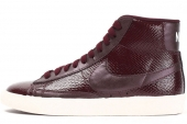685225-600 Nike W Blazer Mid Ltr Prm 深酒红色女子休闲板鞋