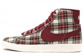 685207-100 Nike WMNS Blazer Mid Textile Prm 红白色女子休闲板鞋