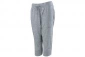 2PU83174103 Puma麻灰色女子针织七分裤