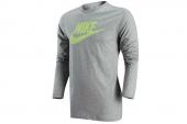 647844-063 Nike灰色男子Logo 长袖T恤