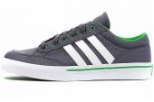 M17960 adidas Gvp Canvas STR 灰色男子网球鞋
