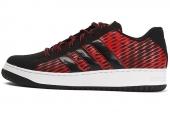 C75281 adidas SS Inspired 贝壳头黑红色男子网球鞋