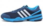 M17861 adidas Rally Oop 蓝色男子网球鞋