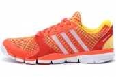 M18127 adidas Adipure 360 Tex W C 红橙色女子训练鞋